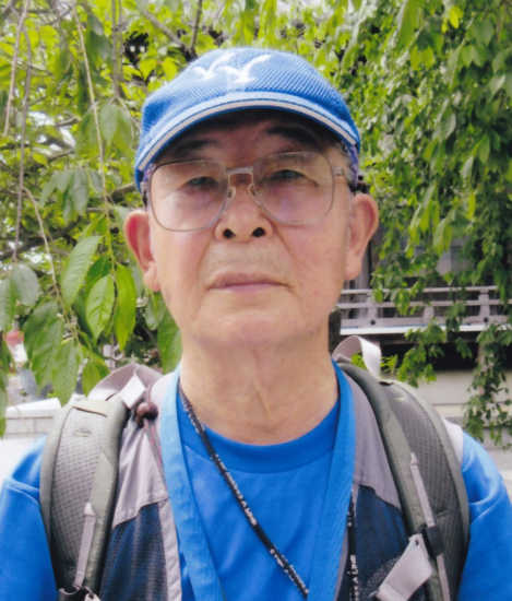西湘スタッフ門ノ沢氏の写真